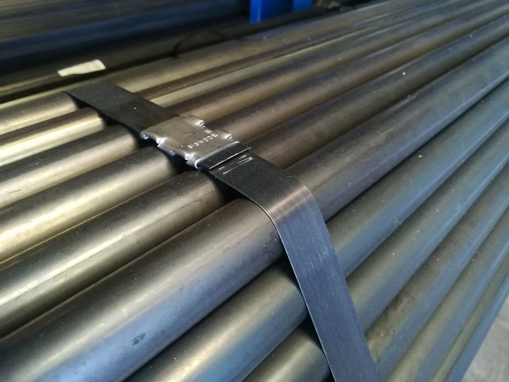 Packaging Steel Strapping - Steel Straps Houston | Talon Packaging, Inc.